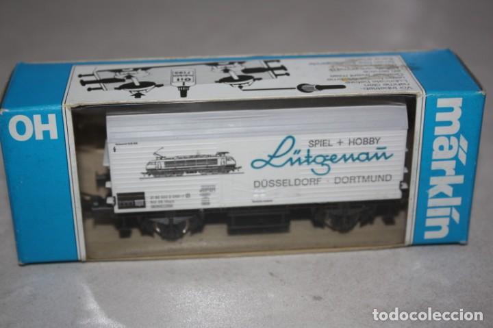 VAGÓN MARKLIN . AÑO 1980. (Juguetes - Trenes a Escala - Marklin H0)