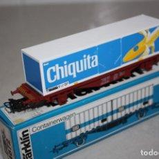 Trenes Escala: VAGÓN MARKLIN CHIQUITITA.. Lote 183700647