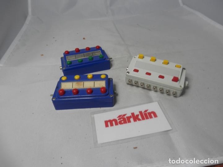 LOTE PUPITRES DE MARKLIN (Juguetes - Trenes a Escala - Marklin H0)