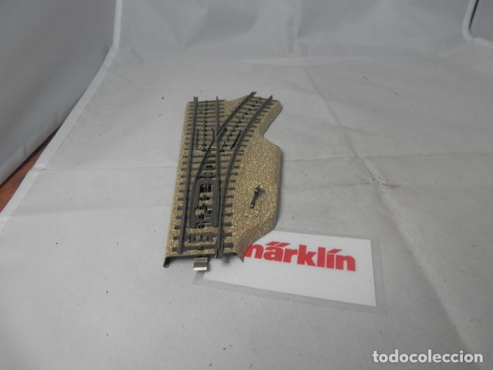 DESVIO MANUAL ESCALA HO DE MARKLIN (Juguetes - Trenes a Escala - Marklin H0)