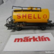 Trenes Escala: VAGÓN CISTERNA ESCALA HO DE MARKLIN . Lote 184401762