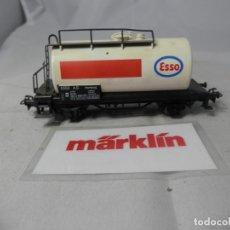 Trenes Escala: VAGÓN CISTERNA ESCALA HO DE MARKLIN . Lote 184401897