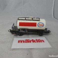Trenes Escala: VAGÓN CISTERNA ESCALA HO DE MARKLIN . Lote 184401940