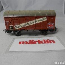 Trenes Escala: VAGÓN CERRADO ESCALA HO DE MARKLIN . Lote 184403455