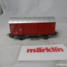Trenes Escala: VAGÓN CERRADO ESCALA HO DE MARKLIN . Lote 184403723