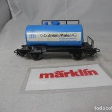 Trenes Escala: VAGÓN CISTERNA ESCALA HO DE MARKLIN . Lote 184403988