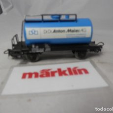 Trenes Escala: VAGÓN CISTERNA ESCALA HO DE MARKLIN . Lote 184404015