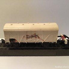 Trenes Escala: VAGÓN FRIGORÍFICO MARKLIN H0. VAGÓN DE MERCANCÍAS H0.. Lote 185754416