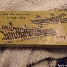 Trenes Escala: MÄRKLIN 5117 VIAS DESVIO DERECHO E IZQUIERDO. Lote 187113177