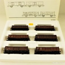 Trenes Escala: MARKLIN 46021 SET DE 6 VAGONES BORDE ALTO DB. Lote 187378535