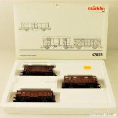 Trenes Escala: MARKLIN 47878 SET VAGONES CARGA ITALIAN CLASSIC. Lote 188508881