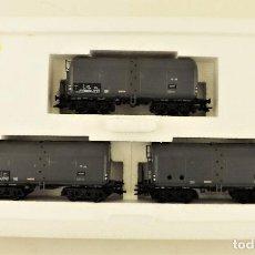 Trenes Escala: MARKLIN 47906 SET VAGONES CARGA GRAN CAPACIDAD. Lote 188509332