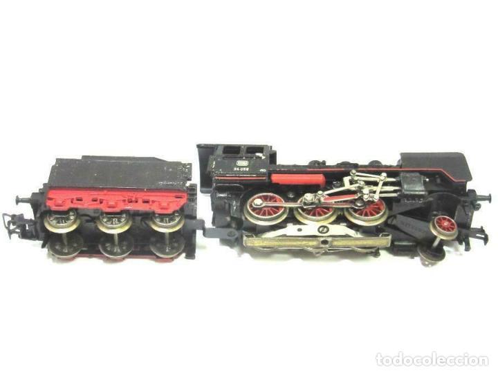 Trenes Escala: magnifica Märklin H0 - Locomotora con caja y tender - No. 3003 - en OVP 9D4334 242 EUR. - Foto 2 - 188604500