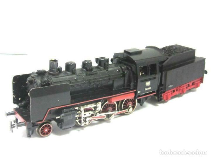 Trenes Escala: magnifica Märklin H0 - Locomotora con caja y tender - No. 3003 - en OVP 9D4334 242 EUR. - Foto 3 - 188604500