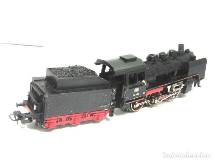 Trenes Escala: magnifica Märklin H0 - Locomotora con caja y tender - No. 3003 - en OVP 9D4334 242 EUR. - Foto 4 - 188604500