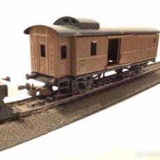 Comboios Escala: MARKLIN H0. ÚNICO. FURGÓN FINAL PORTAEQUIPAJES PERSONALIZADO EN COLOR MARRÓN.. Lote 189546035