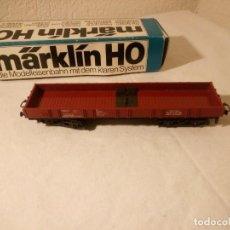 Trenes Escala: BAGON DE CARGA MARKLIN H0 , 4474,EN CAJA ORIGINAL.. Lote 189588077