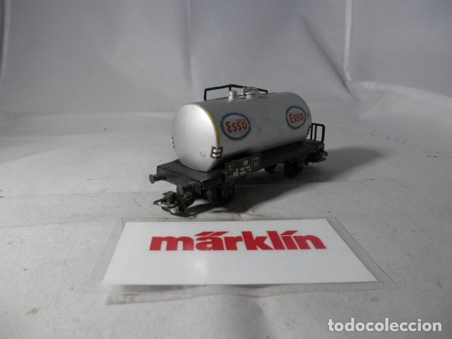Trenes Escala: VAGÓN CISTERNA ESCALA HO DE MARKLIN - Foto 3 - 190603285