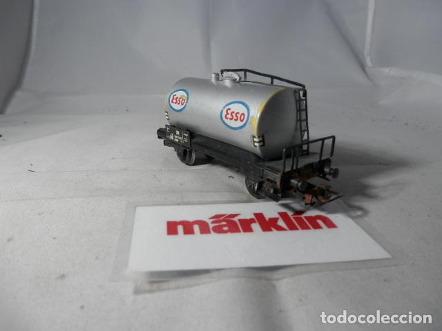 Trenes Escala: VAGÓN CISTERNA ESCALA HO DE MARKLIN - Foto 4 - 190603285