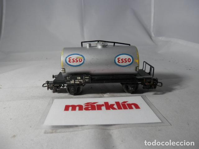 Trenes Escala: VAGÓN CISTERNA ESCALA HO DE MARKLIN - Foto 6 - 190603285