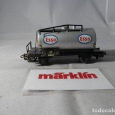 Trenes Escala: VAGÓN CISTERNA ESCALA HO DE MARKLIN . Lote 190603285