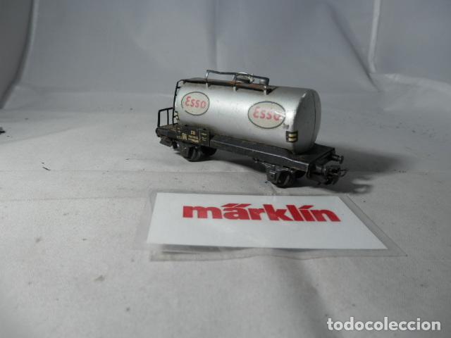 Trenes Escala: VAGÓN CISTERNA ESCALA HO DE MARKLIN - Foto 3 - 190603341