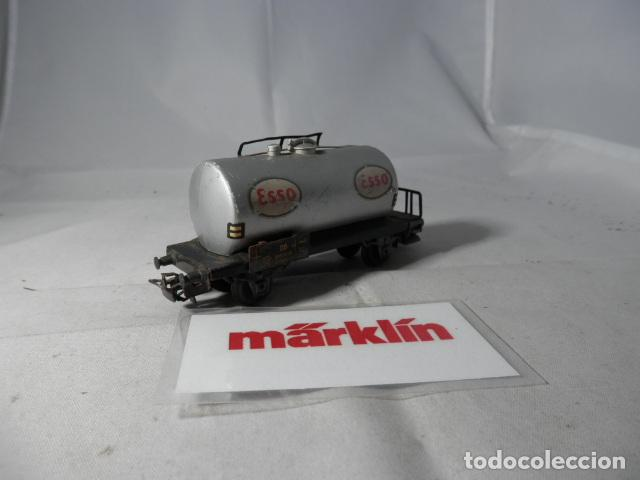 Trenes Escala: VAGÓN CISTERNA ESCALA HO DE MARKLIN - Foto 6 - 190603341