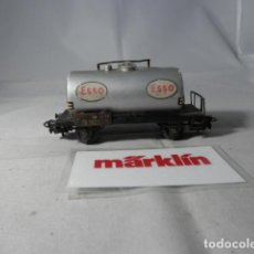 Trenes Escala: VAGÓN CISTERNA ESCALA HO DE MARKLIN . Lote 190603341