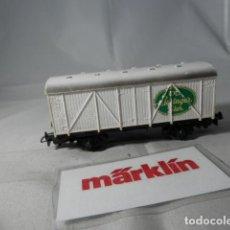 Trenes Escala: VAGÓN CERRADO ESCALA HO DE MARKLIN . Lote 190603440