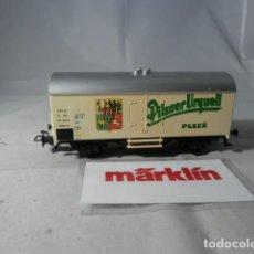Trenes Escala: VAGÓN CERRADO ESCALA HO DE MARKLIN . Lote 190603493