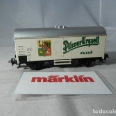 Trenes Escala: VAGÓN CERRADO ESCALA HO DE MARKLIN . Lote 190603733
