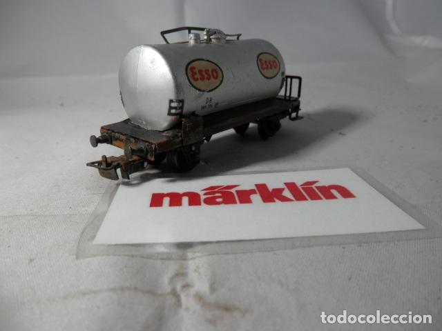 Trenes Escala: VAGÓN CISTERNA ESCALA HO DE MARKLIN - Foto 2 - 190627676