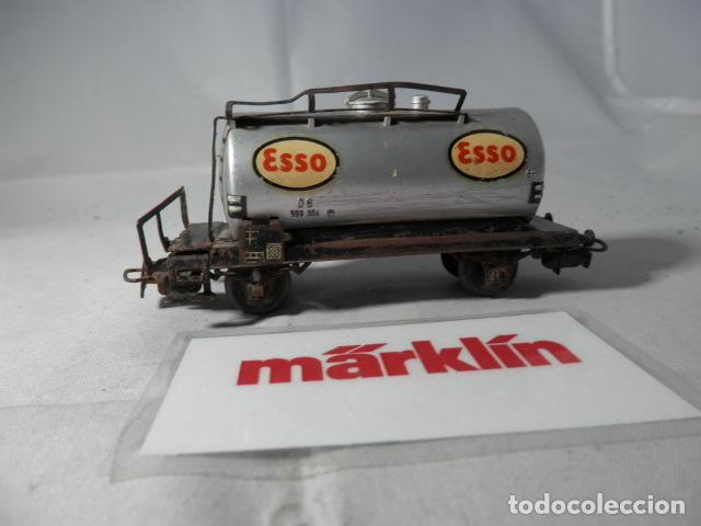 Trenes Escala: VAGÓN CISTERNA ESCALA HO DE MARKLIN - Foto 3 - 190627676