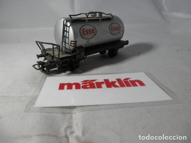 Trenes Escala: VAGÓN CISTERNA ESCALA HO DE MARKLIN - Foto 3 - 190627760