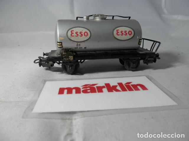 Trenes Escala: VAGÓN CISTERNA ESCALA HO DE MARKLIN - Foto 4 - 190627760