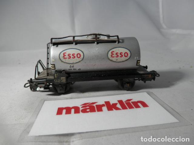 VAGÓN CISTERNA ESCALA HO DE MARKLIN (Juguetes - Trenes a Escala - Marklin H0)