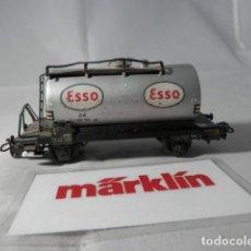 Trenes Escala: VAGÓN CISTERNA ESCALA HO DE MARKLIN . Lote 190627760