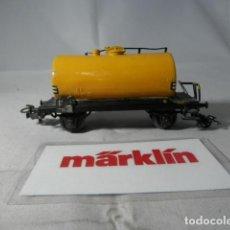 Trenes Escala: VAGÓN CISTERNA ESCALA HO DE MARKLIN . Lote 190627801