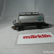 Trenes Escala: VAGÓN CISTERNA ESCALA HO DE MARKLIN . Lote 190629557