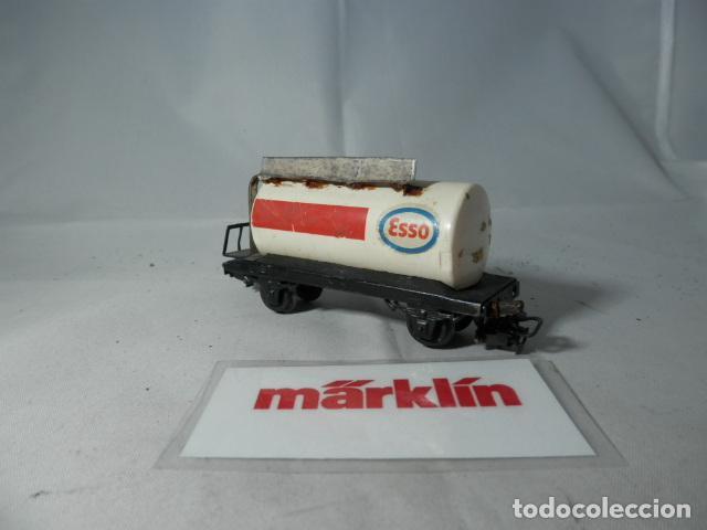 Trenes Escala: VAGÓN CISTERNA ESCALA HO DE MARKLIN - Foto 3 - 190850626