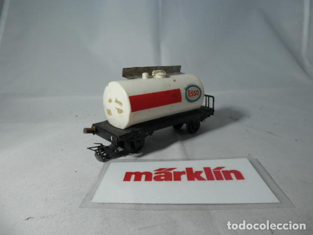 Trenes Escala: VAGÓN CISTERNA ESCALA HO DE MARKLIN - Foto 4 - 190850626