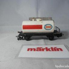 Trenes Escala: VAGÓN CISTERNA ESCALA HO DE MARKLIN . Lote 190850626
