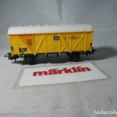 Trenes Escala: VAGÓN CERRADO ESCALA HO DE MARKLIN . Lote 190884330