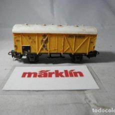 Trenes Escala: VAGÓN CERRADO ESCALA HO DE MARKLIN . Lote 190884353