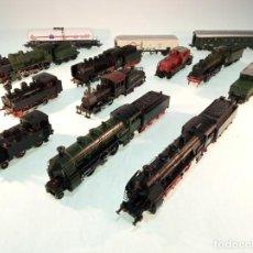 Trenes Escala: ESPECTACULAR LOTE DE TRENES ELÉCTRICOS A VAPOR. MARKLIN, ELECTROTRÉN. 10 LOCOMOTORAS, 6 TENDER Y 3 V. Lote 190935045