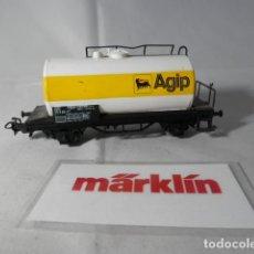 Trenes Escala: VAGÓN CISTERNA ESCALA HO DE MARKLIN . Lote 191243496