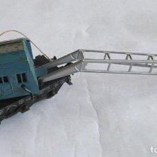 Trenes Escala: MARKLIN H0 VAGÓN GRUA. PARA RESTAURAR. Lote 191407948