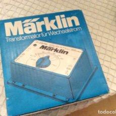 Comboios Escala: TRANSFORMADOR TREN MARKLIN-6631-220V-TRANSFORMER. EN CAJA ORIGINAL. FABRICADO EN ALEMANIA OCCIDENTAL. Lote 191878805
