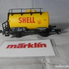 Comboios Escala: VAGÓN CISTERNA ESCALA HO DE MARKLIN . Lote 193297798
