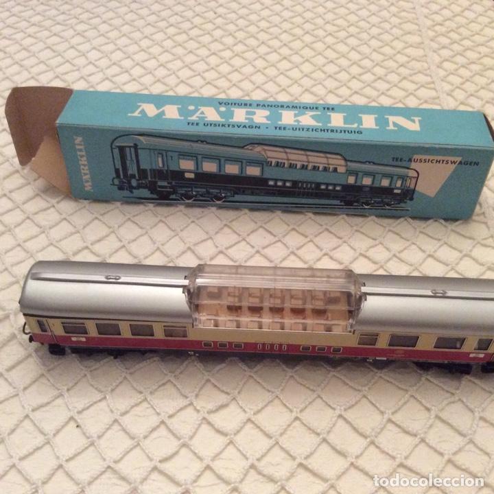 VAGÓN-TREN-MARKLIN-REF-4090-COCHE-PASAJEROS.EN SU CAJA ORIGINAL. FABRICADO EN ALEMANIA OCCIDENTAL (Juguetes - Trenes a Escala - Marklin H0)